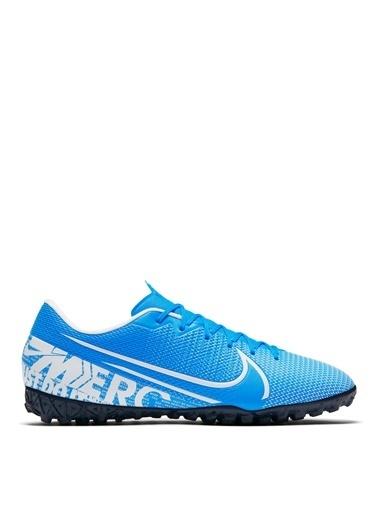Nike Nike Mercurial Vapor 13 Academy TF Halı Saha Futbol Ayakkabısı Mavi